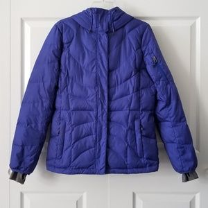 Lands' End Insulated Down Puffer Jacket | S